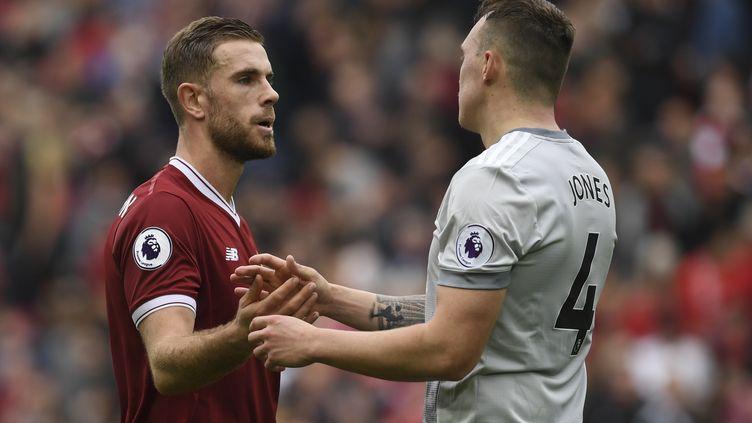 Manchester United a arraché le nul sur la pelouse de Liverpool (0-0). (PAUL ELLIS / AFP)