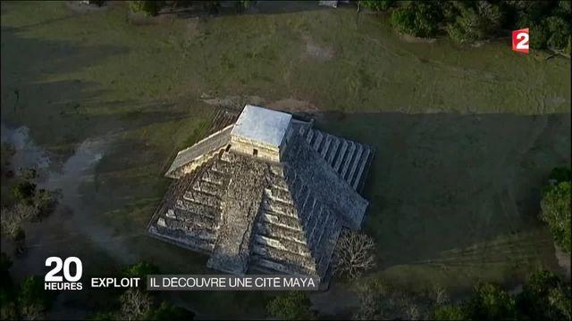 A 15 ans, il découvre une nouvelle cité maya