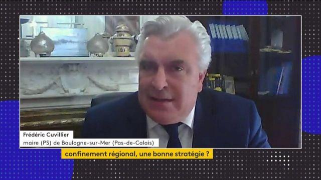 """Covid-19 : le maire de Boulogne-sur-Mer dénonce """"le sort particulier réservé au Pas-de-Calais"""""""