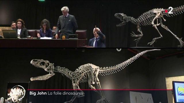 Vente aux enchères : Big John et la folie des dinosaures