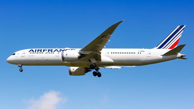 Un vol Air France décolle de Paris, le 17 août 2018. (MAXPP)