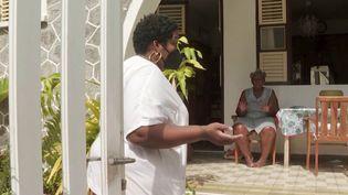 Covid-19 : la Martinique face au virus (Capture d'écran franceinfo)