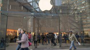 Une boutique Apple Store à New York. (MAXPPP)