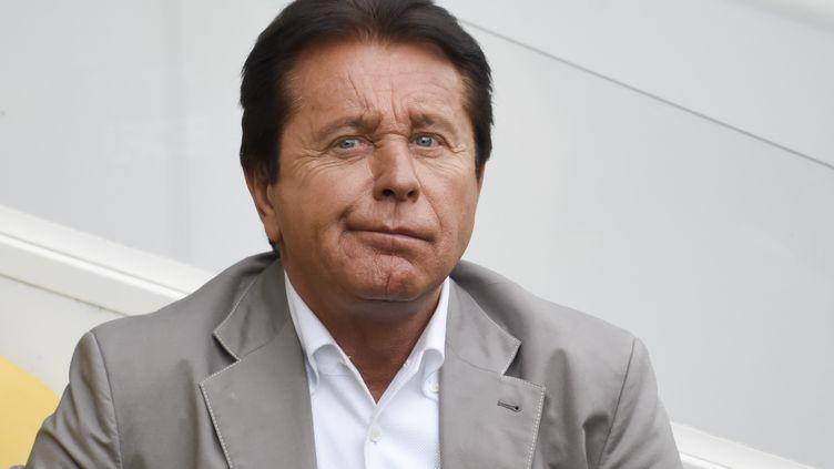 Waldemar Kita, le président du FC Nantes, est suspendu deux mois  (SEBASTIEN SALOM-GOMIS / AFP)