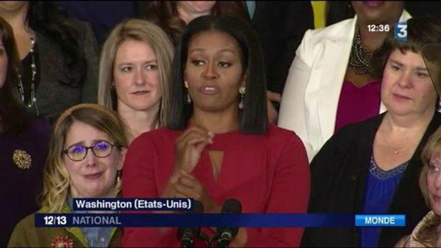 États-Unis : les adieux de Michelle Obama