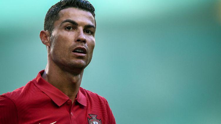 Le Portugais Cristiano Ronaldo est de retour à Old Trafford 12 ans après son départ de Manchester United vers le Real Madrid. (PATRICIA DE MELO MOREIRA / AFP)