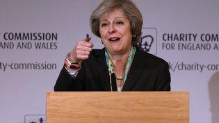 Theresa May, le 9 janvier 2017à Londres (Royaume-Uni). (DAN KITWOOD / AFP)