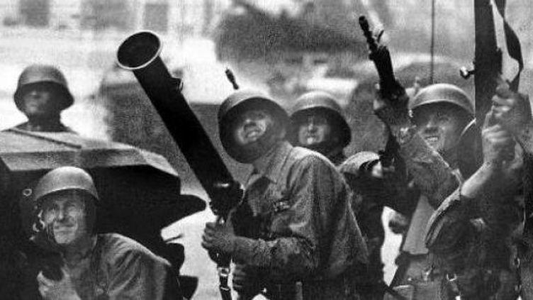 Lors du coup d'Etat au Chili. (AFP PHOTO/ARCHIVO PRENSA LATINA)