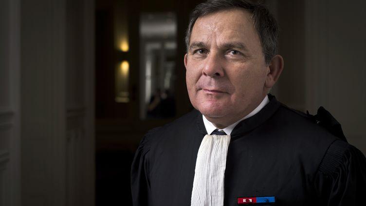 L'avocatFrancis Szpiner, le 24 ocotbre 2014. (MARTIN BUREAU / AFP)