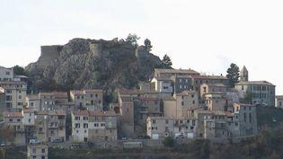 La petite ville d'Ascros, dans les Alpes-Maritimes. (CAPTURE ECRAN FRANCE 2)