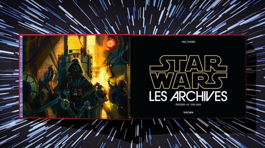 """""""Les Archives Star Wars II"""" : 1999-2005, les origines de Dark Vador par George Lucas dans un beau livre XXL"""