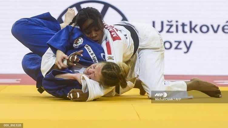 Madeleine Malonga (MICHAL CIZEK / AFP)