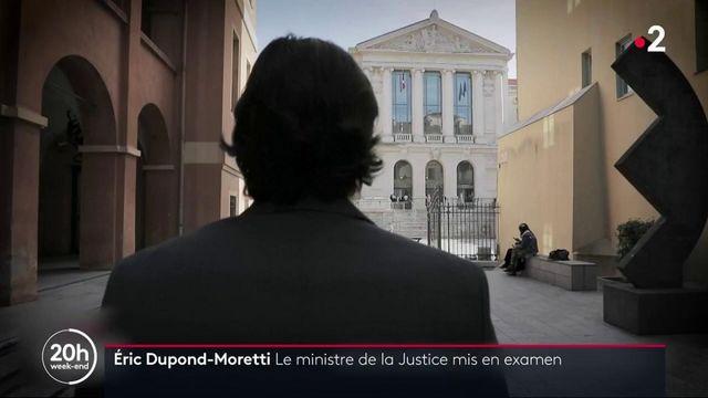 Justice : mis en examen, Éric Dupond-Moretti conserve le soutien d'Emmanuel Macron