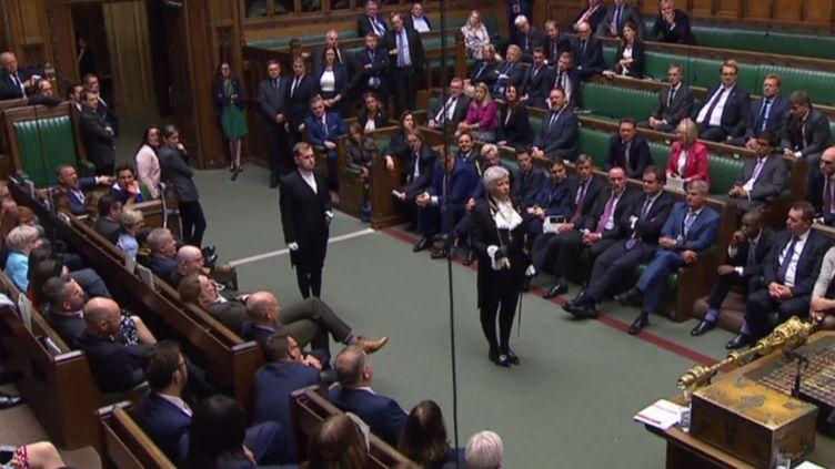 Le Parlement britannique à Londres lors de la cérémonie de suspension, le 10 septembre 2019. (AFP)