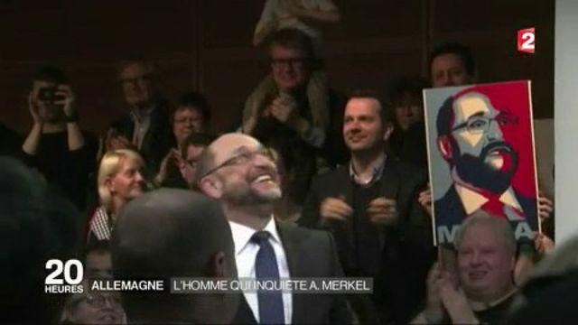 Allemagne : l'homme qui inquiète Angela Merkel