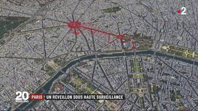 Paris : un réveillon sous haute surveillance