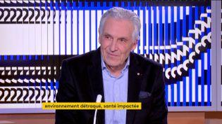 Jean-Jacques Eledjam, président de la Croix-Rouge française (FRANCEINFO)