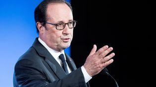 François Hollande, le 29 septembre 2016 (ETIENNE LAURENT / EPA POOL)