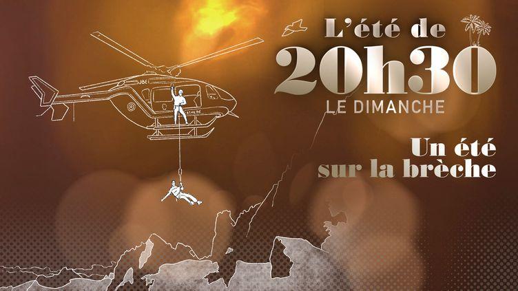 L'ETE DE 20H30 LE DIMANCHE / FRANCE 2 (CAPTURE ECRAN / L'ETE DE 20H30 LE DIMANCHE / FRANCE 2)