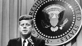 Le président américain John F. Kernnedy à Washington, le 1er août 1963. (NATIONAL ARCHIVES / HULTON ARCHIVE)