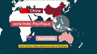La zone indopacifiquedevient le centre des enjeuxstratégiques mondiaux (FRANCEINFO)