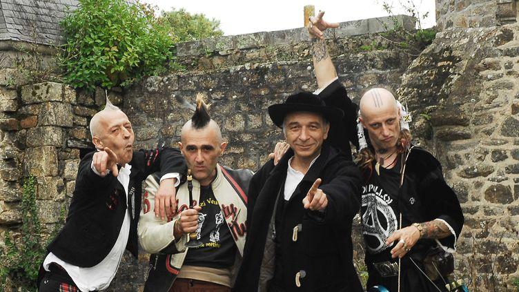 """Le groupe punk breton """"Les ramoneurs de menhirs""""  (DR)"""