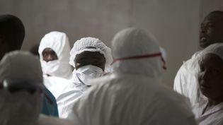 Dans une clinique de Monrovia, au Liberia, le 30 septembre 2014. (REUTERS)