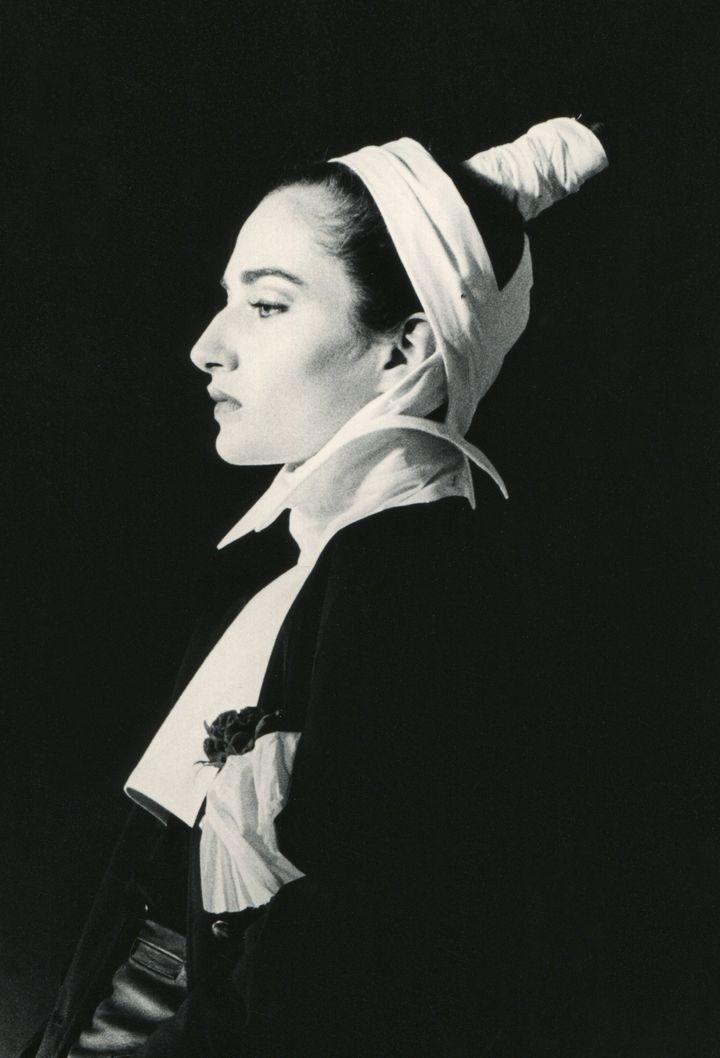 """""""Les Belges, une histoire de mode inattendue"""" : Ann Demeulemeester printemps-été 1982  (Patrick Robyn 1982)"""