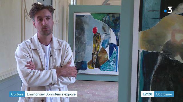 Haute-Garonne : le peintre Emmanuel Bornstein livre une exposition sombre et intime qui questionne son histoire familiale