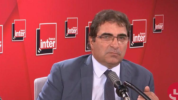 Christian Jacob, président du parti Les Républicains, invité de France Inter le 25 juin 2020. (FRANCEINTER / RADIOFRANCE)