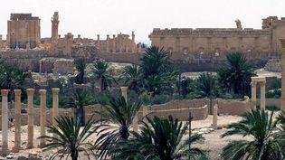 Nouvelles destructions dans la ville de Palmyre  (SANA / AFP)