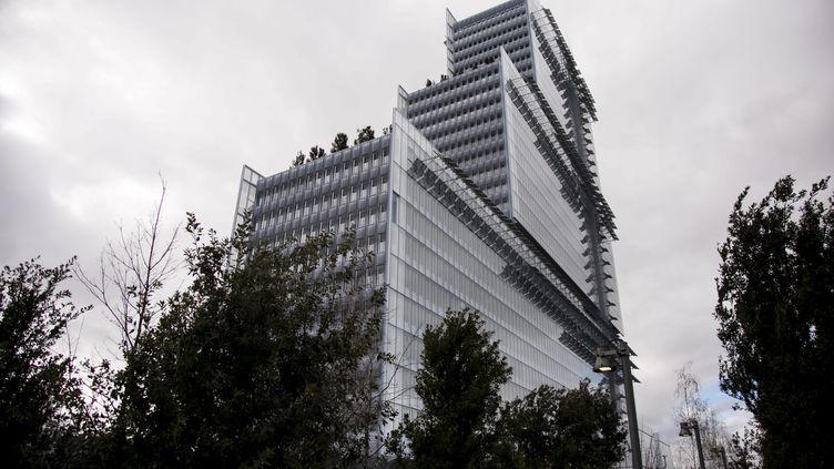Le procès des douze proxénétes présumés doit durer jusqu'à mardi 3 juillet au tribunal correctionnel de Paris (ici, le nouveau palais de justice de Paris). (VINCENT ISORE / MAXPPP)