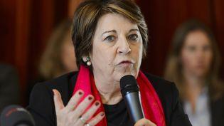 L'avocate et ancienne ministre de l'Environnement, Corinne Lepage. (FABRICE COFFRINI / AFP)