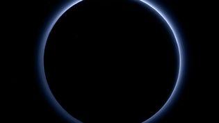 Uneimage de Pluton transmise par la sonde New Horizons de la Nasa le 8 octobre 2015. ( NASA / JHUAPL / SWRI)