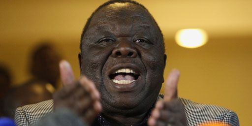 Le Premier ministre zimbabwéen, Morgan Tsvangirai, à Harare le 3 août 2013. (Reuters - Siphiwe Sibeko)