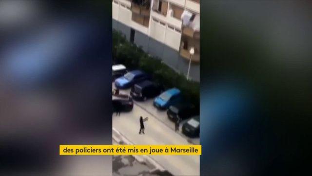 Marseille : des malfaiteurs mettent en joue des policiers dans une cité sensible