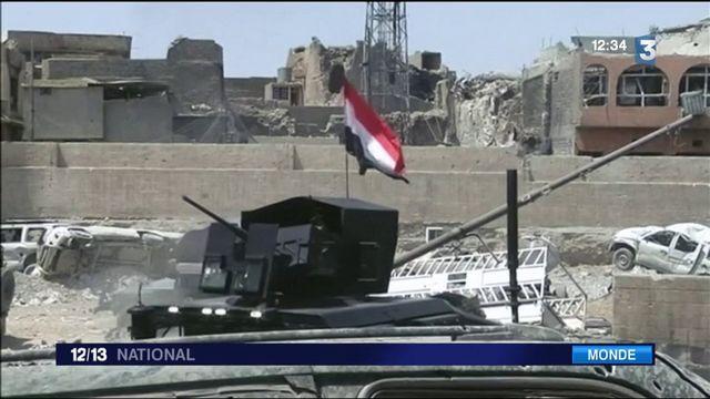 Mossoul libérée : les Irakiens célèbrent la victoire