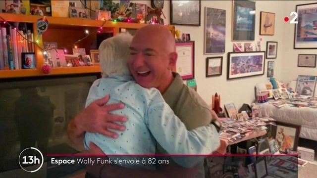 Espace : Jeff Bezos emmène l'aviatrice de 82 ans Wally Funk dans sa navette spatiale