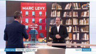 Marc Levy est la couverture de son nouveau roman (France 3)