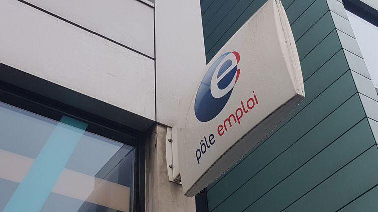 Une agence Pôle Emploi à Paris, le 1er novembre 2019. (LÉA GUEDJ / FRANCE-INTER)