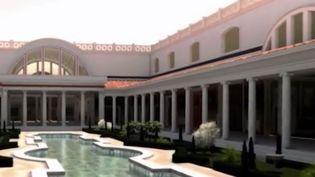 En Italie, il est possible d'effectuer une visite inédite d'un des plus beaux palais de Rome. Les visiteurs du palais de Néron peuvent désormais découvrir une vidéo qui les entraîne dans la Rome antique et leur fait voir cette Maison dorée plus vraie que nature. (FRANCE 2)
