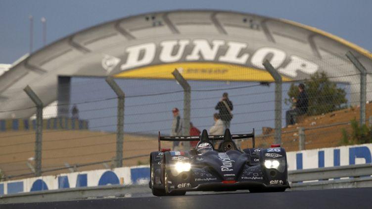 L'Oreca-Nissan de Signatech au Mans en 2011
