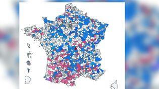 Les résultats des élections départementales 2021, canton par canton. (FRANCEINFO)