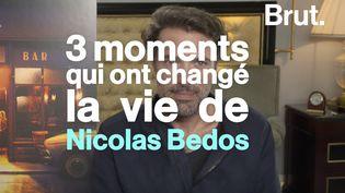 VIDEO. Cannes, la rencontre avec un prof… Ces moments qui ont changé la vie de Nicolas Bedos (BRUT)