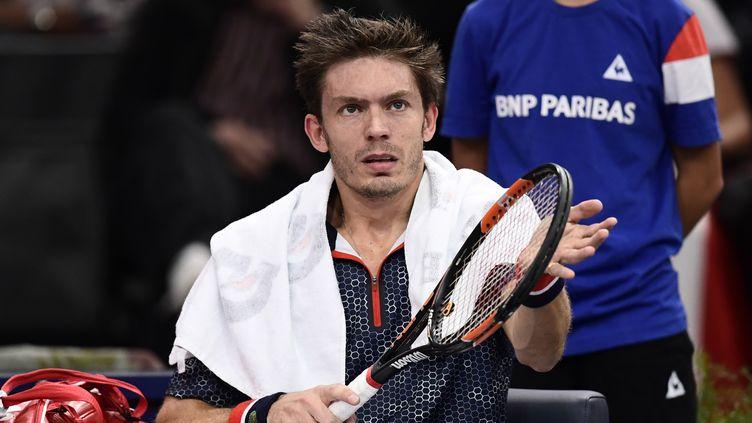 Le joueur français Nicolas Mahut (MIGUEL MEDINA / AFP)