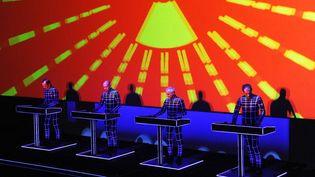 Kraftwerk à la Fondation Louis Vuitton (6 novembre2014)  (Dominique Faget / AFP)