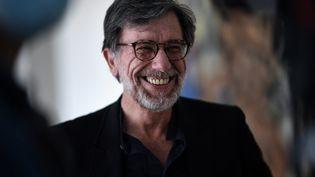 Serge Lasvignes, président du musée d'art moderne du Centre Pompidou,le 15 juin 2020. (ANNE-CHRISTINE POUJOULAT / AFP)