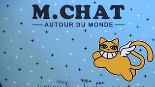 M. Chat, ses ailes lui permettent d'observer le monde avec un certain détachement  (DR)