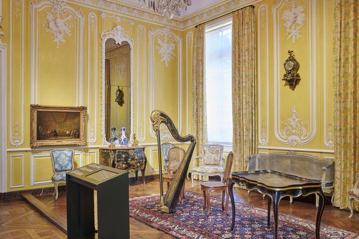 Salon de musique, musée Carnavalet - Histoire de Paris (© Pierre Antoine)
