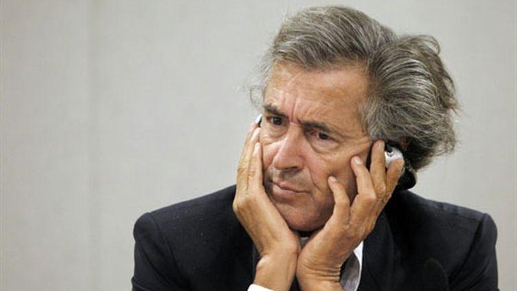Bernard-Henri Lévy (6 septembre 2010) (AFP/PATRICK KOVARIK)
